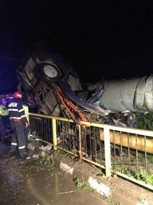 Grav accident rutier în Râmnicu Vâlcea