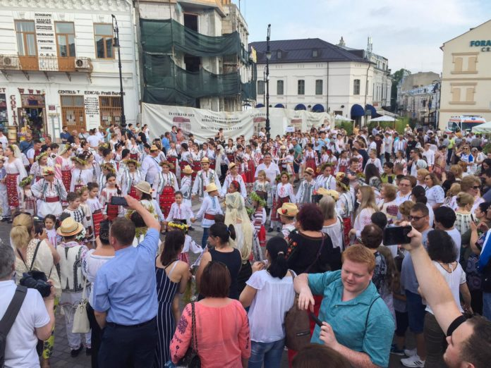 Ie purtată cu mândrie la Craiova