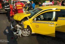 In accident au fost implicate 3 autoturisme