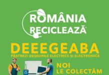 """Locuitorii din Râmnicu Vâlcea participă la campania """"România Reciclează"""""""