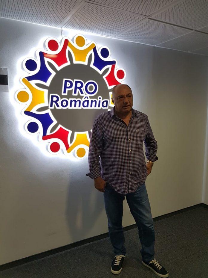 Antonie Solomon înscris în Partidul ProRomânia
