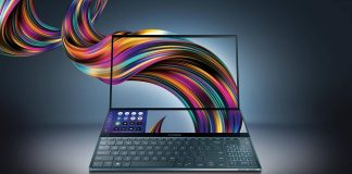 noul ZenBook Pro Duo cu ScreenPad Plus
