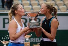 Timea Babos şi Kristina Mladenovic au câştigat finala feminină de dublu de la Roland Garros