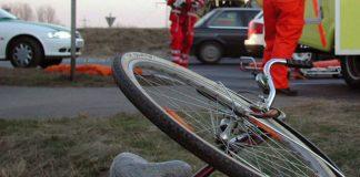 Un bărbat s-a rănit după ce a căzut beat cu bicicleta