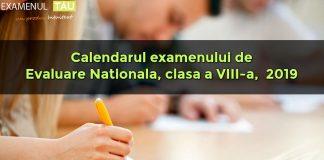 Vineri este ultima zi de cursuri și de înscriere la Evaluarea Națională