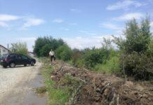 A fost reamenajat canalul pentru apă puvială din cartierul Narciselor