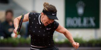 Simona Halep joacă împotriva Amandei Anisimova astăzi.