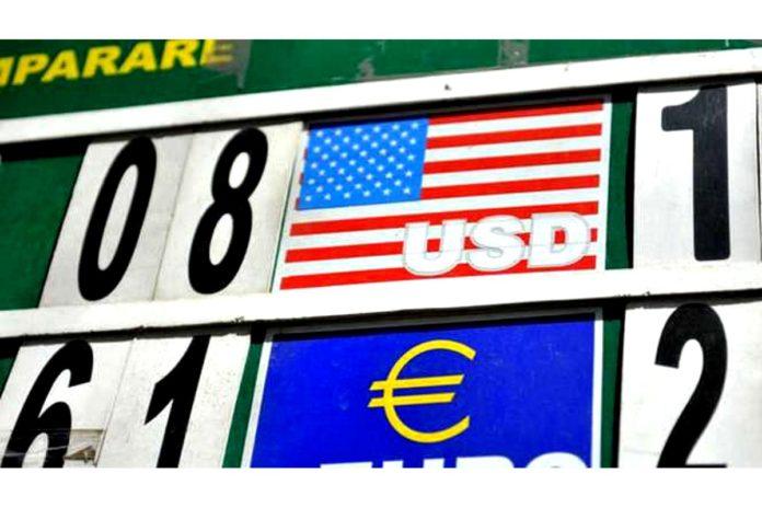 Euro a scăzut în prima zi a lunii iulie