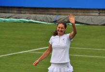 Monica Niculescu a debutat cu bine pe iarba britanică (Foto: mootennis.com)