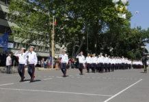 """Sute de absolvenţi de clasa a VIII-a au optat pentru Colegiul Militar """"Tudor Vladimirescu"""" din Craiova."""