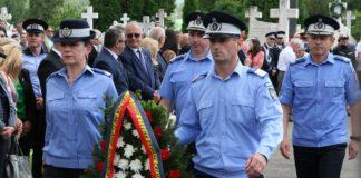 Jandarmii vâlceni i-au comemorat pe eroi