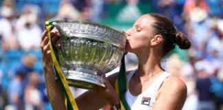 Pșliskova a făcut un turneu perfect la Eastbourne (Foto: wtatennis.com)