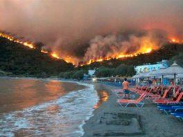 Grecia - risc ridicat de incendii de pădure