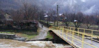 Cod galben de inundaţii pe afluenţi ai râului Olt, până la ora 23:00