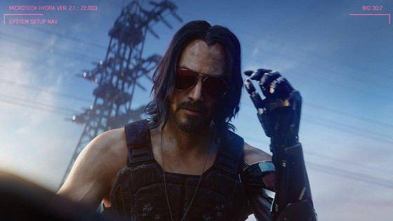 Actorul american Keanu Reeves încarnează un personaj într-unul dintre viitoarele jocuri video ale companiei Microsoft, Cyberpunk 2077