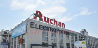 Magazinele Auchan trec pe un program de funcționare zilnică 8.00-21.00