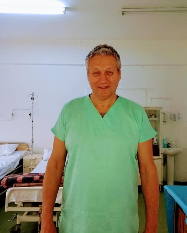 Dr. Mugur Riza a fost concediat pentru a doua oară în urmă cu două săptămâni.