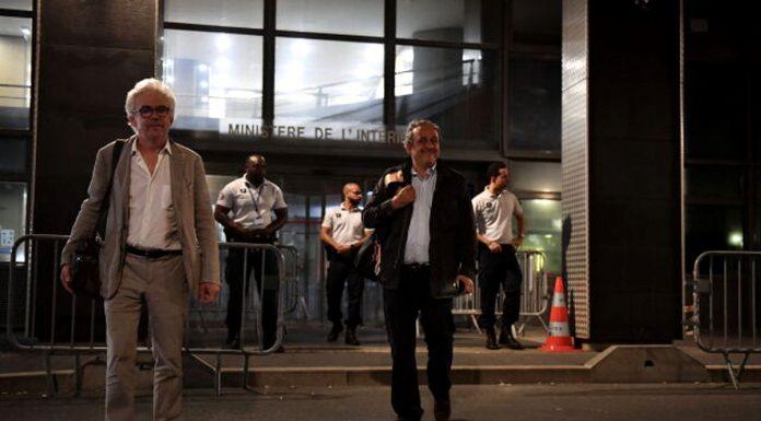 Michel Platini a fost eliberat noaptea trecută