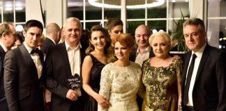 Lia Olguța Vasilescu și Claudiu Manda, dar de nuntă uriaș