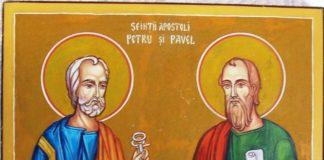 Sfinţii Petru şi Pavel se sărbătoresc mâine