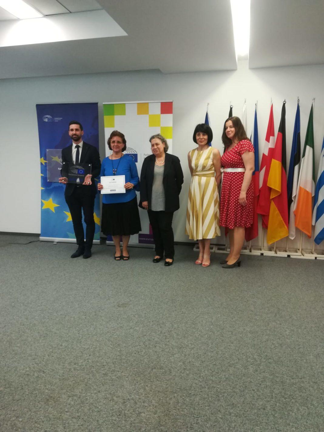 """Colegiul """"Carol I"""" a primit premiul de """"Școală-ambasador a Parlamentului European"""""""