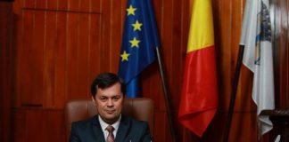 Marcel Romanescu, primarul municipiului Târgu Jiu