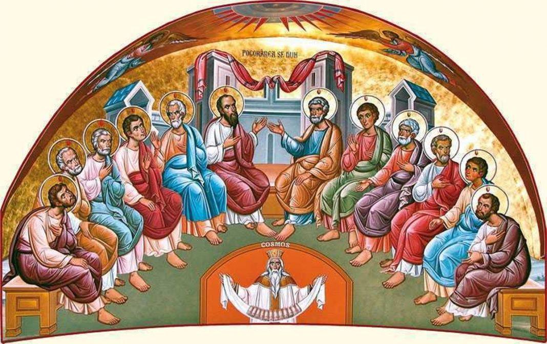 Creștinii ortodocși sărbătoresc Rusaliile