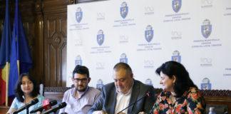 """a Primăria Craiova a fost semnat, vineri, contractul de finanţare europeană pentru reabilitarea Grădiniţei """"Floare Albastră"""""""
