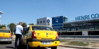Taximetriştii din zona aeroporturilor, verificaţi de poliţie
