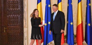 Simona Halep, decorată de preşedintele Klaus Iohannis