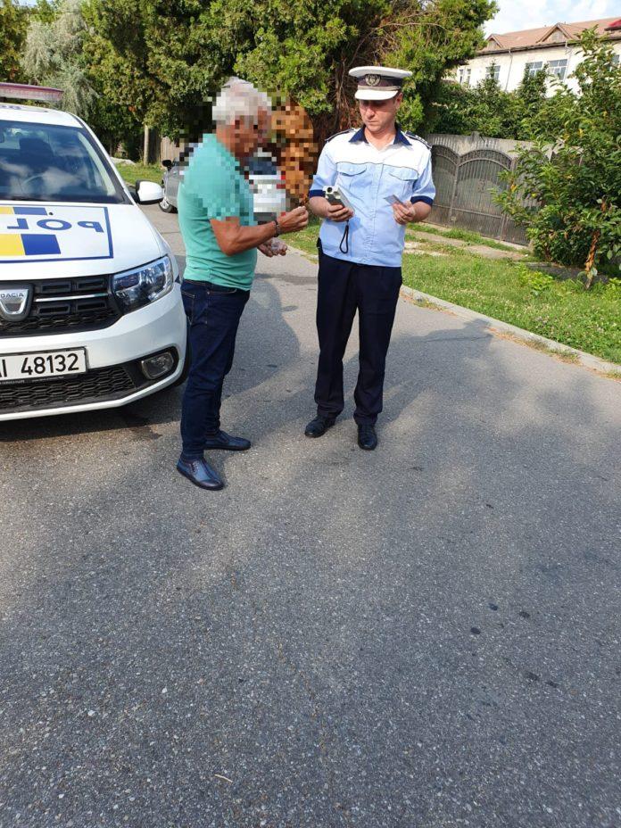 6 permise de conducere reținute de polițiștii din Piatra Olt