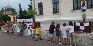 Crimele din Caracal au scos în stradă zeci de copii şi mămici în Târgu Jiu