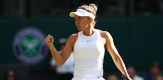 Simona Halep, în finala de la Wimbledon (Foto: stirileprotv.ro)