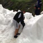 Zăpadă de trei metri la Bâlea Lac