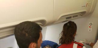 Bătaie într-un avion pe aeroportul Otopeni
