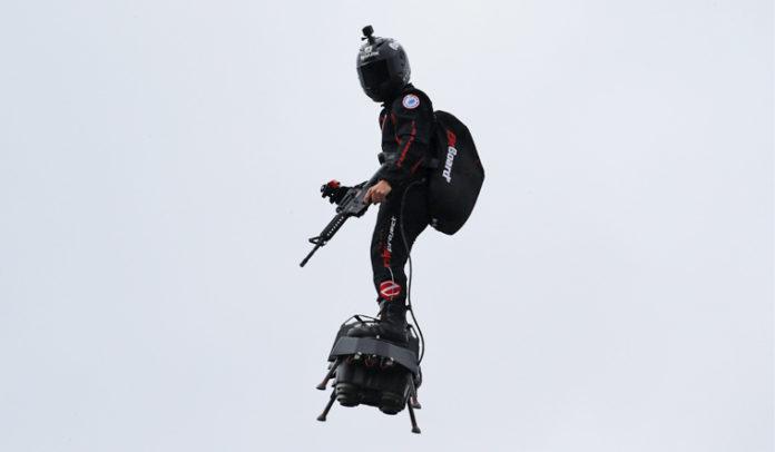 Flyboard Air, aparatul de zbor