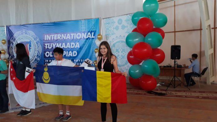 Diana Țolu a luat medalia de argint la Olimpiada Internațională Pluridisciplinară Tuymaada