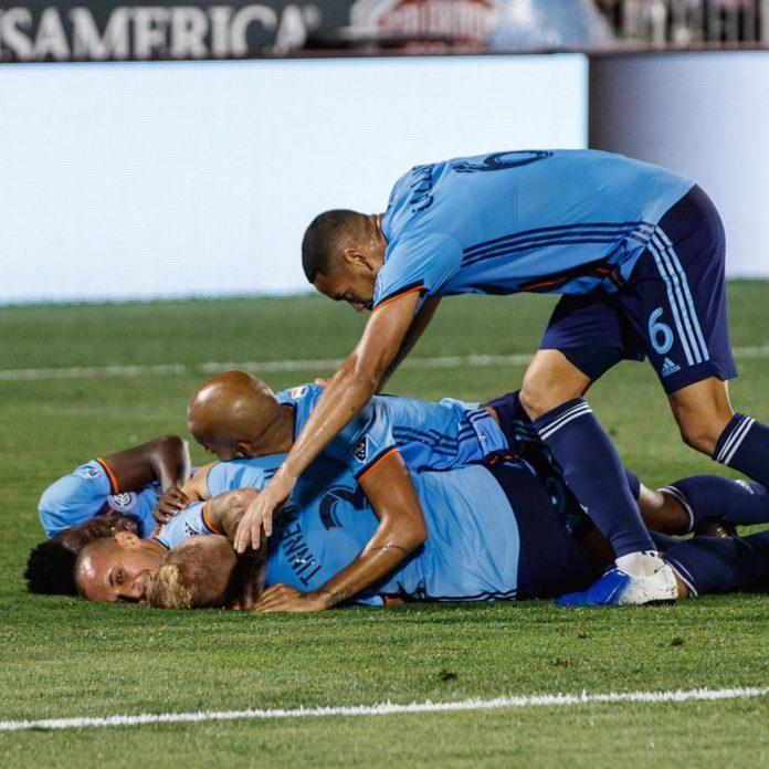 Alex Mitriţă a marcat un nou gol frumos pentru New York City şi a decis victoria la Colorado