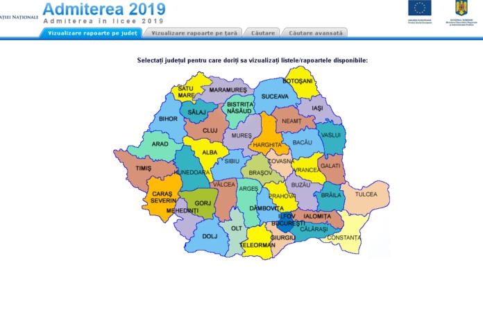 ADMITERE LICEU 2019: S-au afișat rezultatele