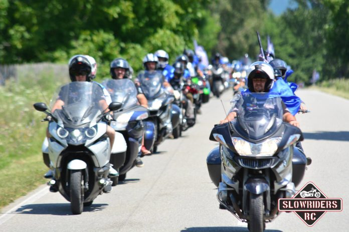 Slowride - Paradă a motocicletelor pe Transalpina