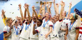 Naţionala Statelor Unite ale Americii îşi continuă supremaţia în fotbalul feminin