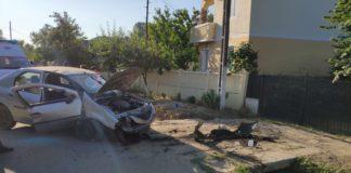 Trei persoane implicate într-un accident rutier la Crușeț