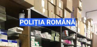 Percheziţii la cabinete medicale şi farmacii din Olt