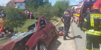 Gorj: Accident rutier cu 6 victime la Plopșoru