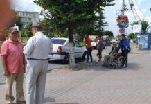 Adjunctul directorului Poliției Locale Slatina a accidentat doi pietoni care circulau regulamentar