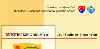 """Lansare de carte la Biblioteca Judeţeană """"Alexandru și Aristia Aman"""""""