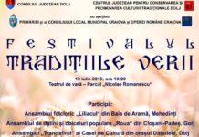 """Festivalul de Datini şi Obiceiuri """" Tradiţiile verii"""" la Craiova"""