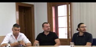Noua echipă de la CSM va putea folosi gratuit Sala Sporturilor (Foto: Robert Bălăeț, Dan Ilieș și Andrei Radu)