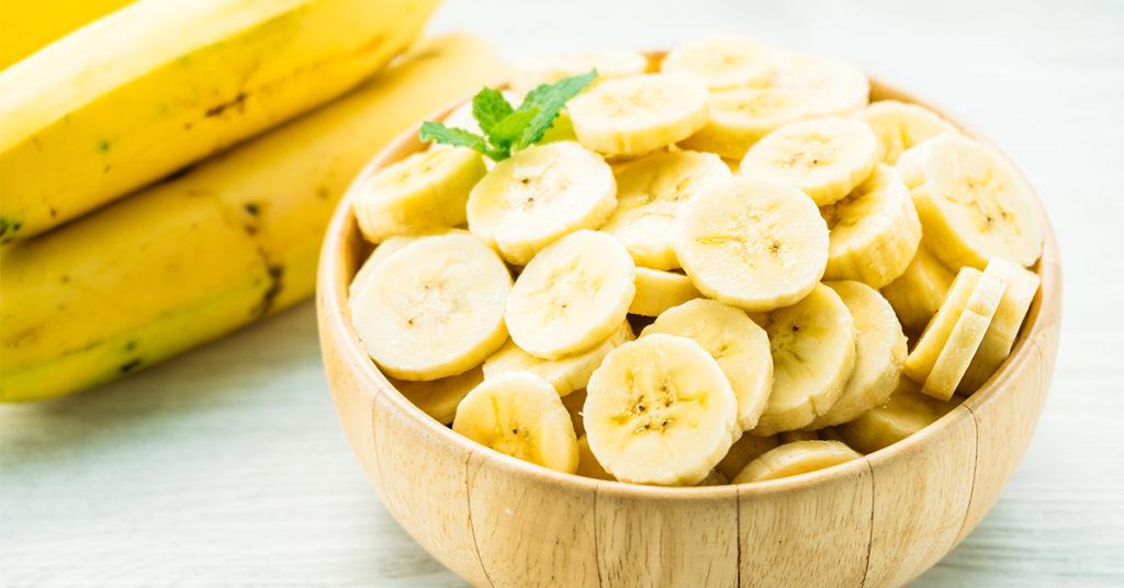 Bananele, sursă de vitamina B6