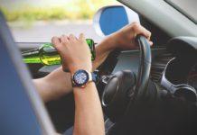 Tânăr prins băut la volan, în Drănic